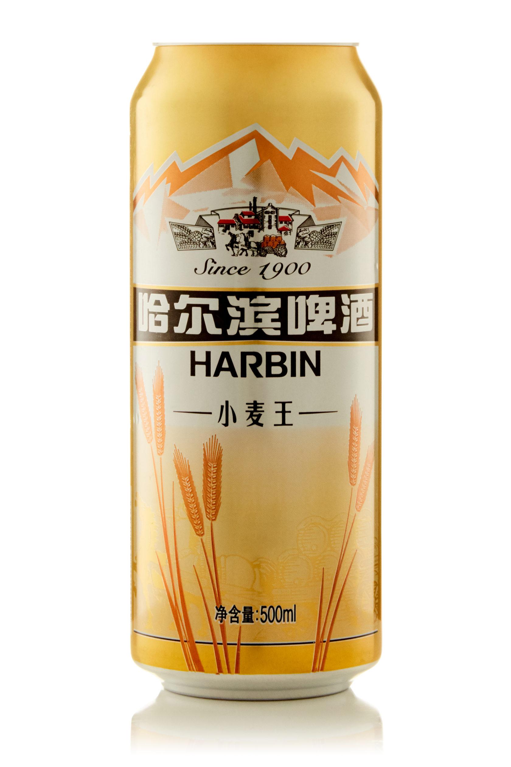 Купить пиво оптом Харбин Пшеничное 500 мл