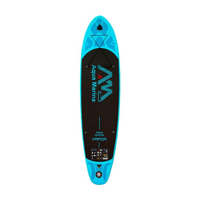 Купить SUP-доску Aqua Marina VAPOR с веслом SPORTS Aluminum Blue S18 - цена, продажа, каталог.