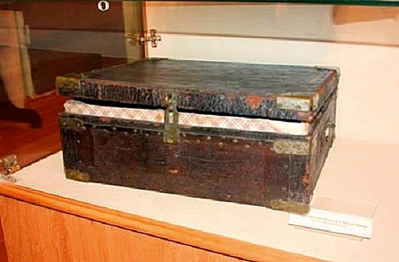 чемоданы Дмитрия Менделеева