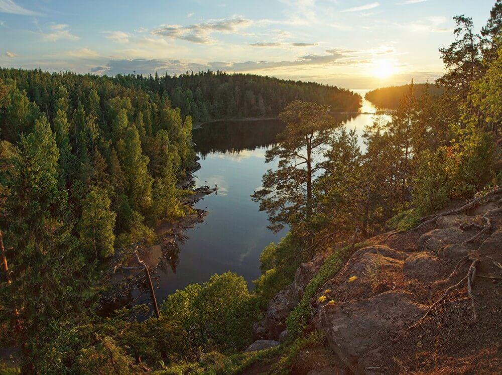 Ладожское озеро Валаам