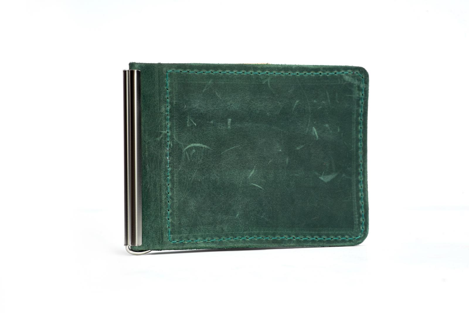 Шкіряний гаманець CLAMP | Shuflia