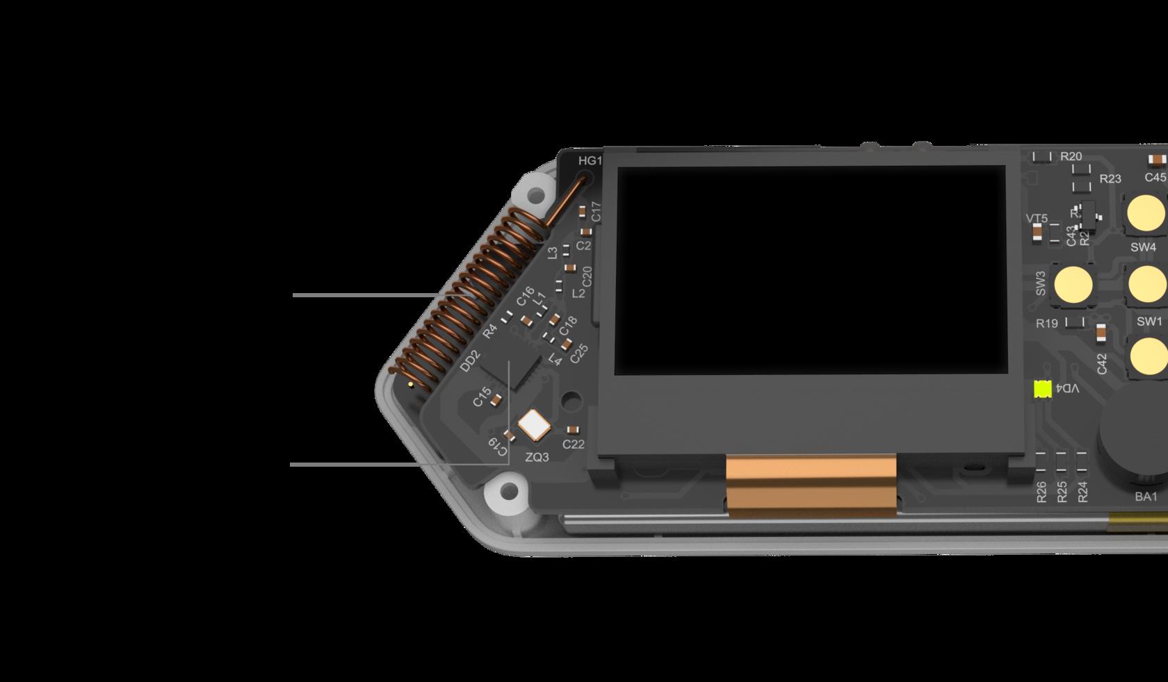 Flipper Zero CC1101 radio chipset