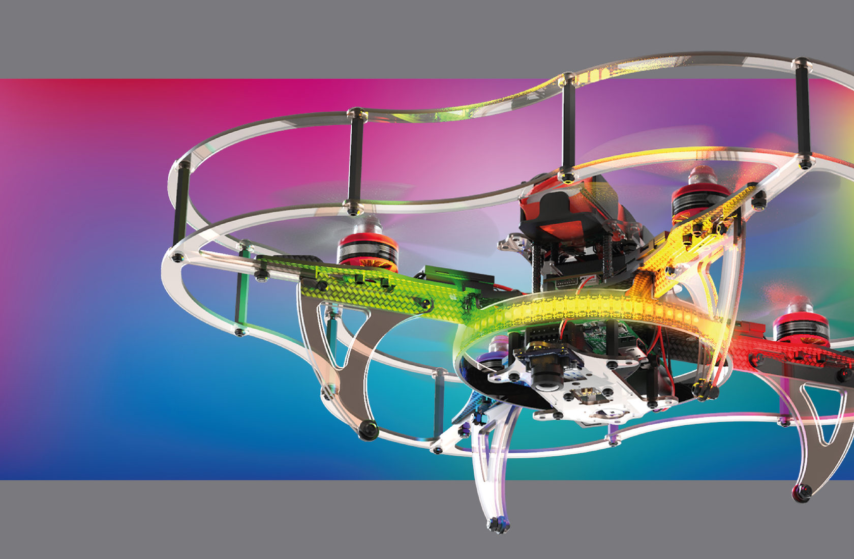 COEX Clever 4 Code Drone — Programmable Quadcopter Kit