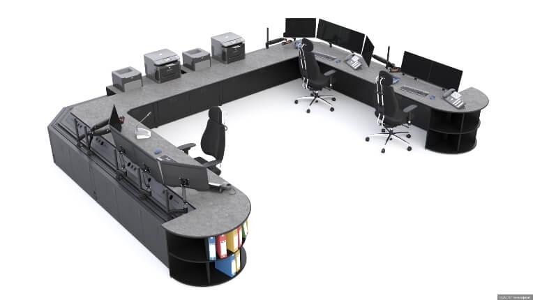 Диспетчерский стол для АО 'СГК'