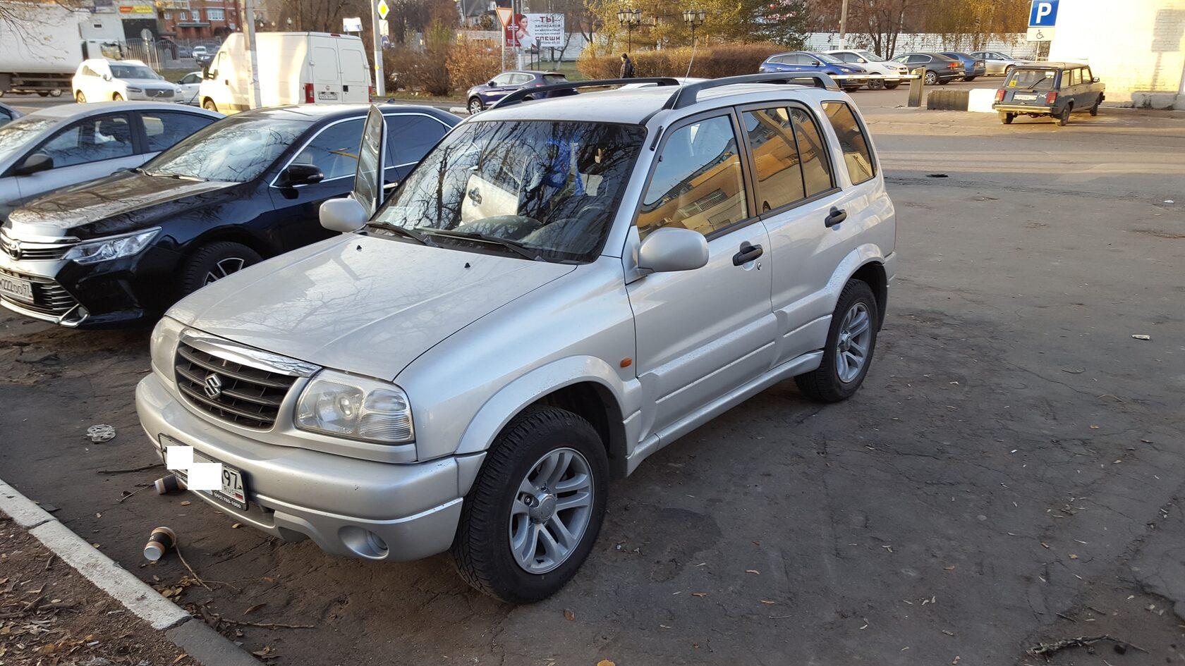 Suzuki Grand vitara автозвук