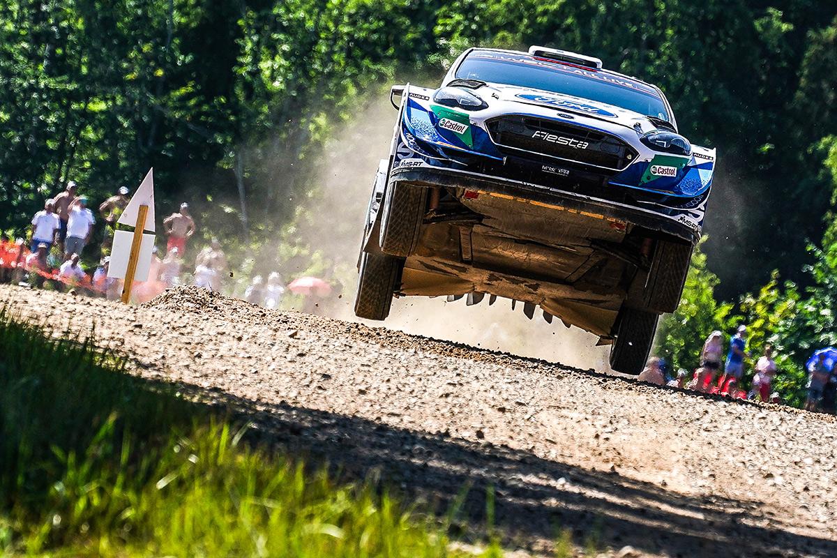Теему Сунинен и Микко Марккула, Ford Fiesta WRC, ралли Эстония 2021