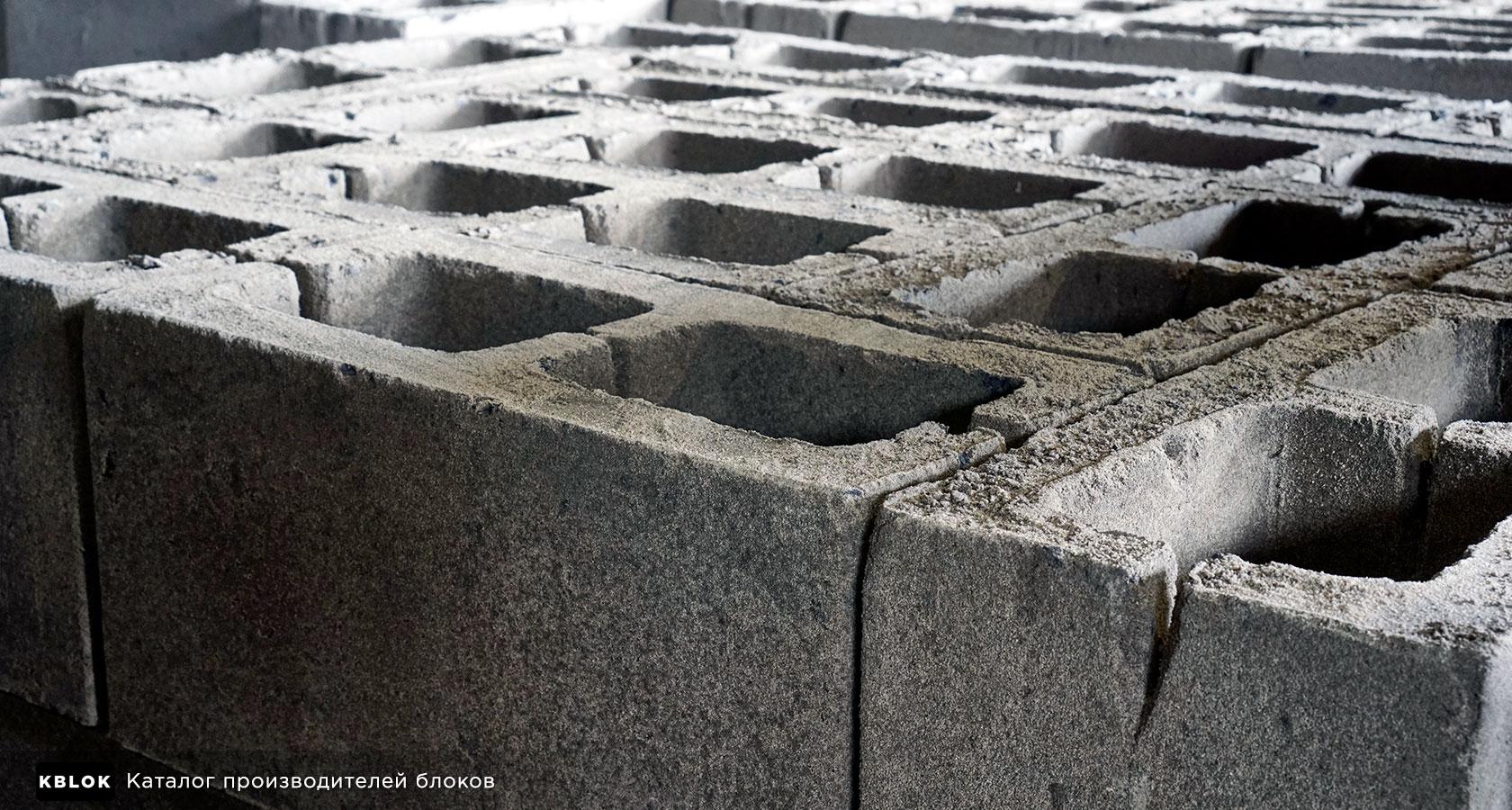 двухпустотные керамзитобетонные блоки