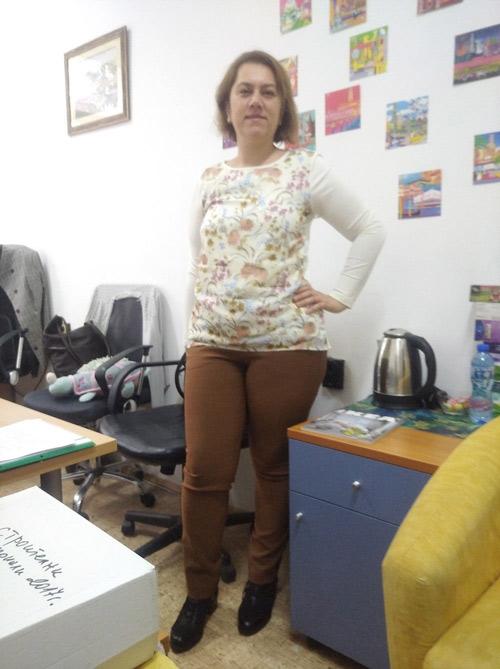 Евтини дамски туники за едри жени от българския производител на дрехи Efrea.com