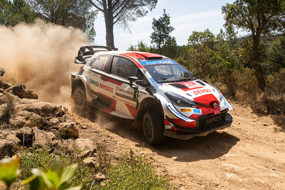 Себастьен Ожье и Жюльен Инграссиа, Toyota Yaris WRC, ралли Сардиния 2021/Фото: Toyota Gazoo Racing WRC