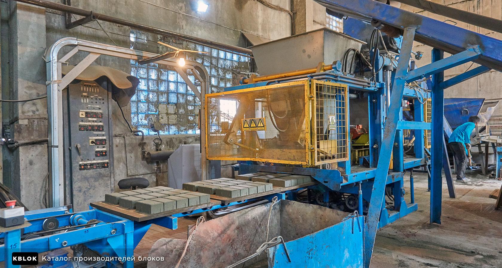 производство тротураной плитки
