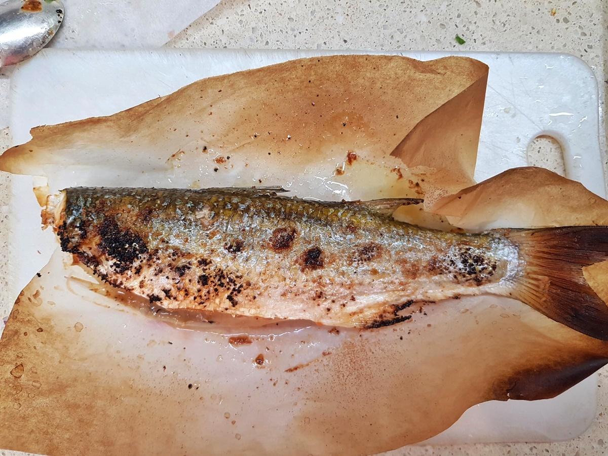 Кефаль (бури) в духовке. Блог Вкусный Израиль.