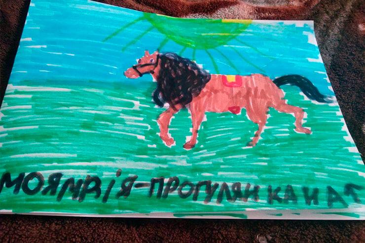 Третье место в конкурсе рисунка от Партии Шария в Херсоне - фото
