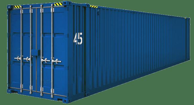 контейнер 45 фунтов высокий HC