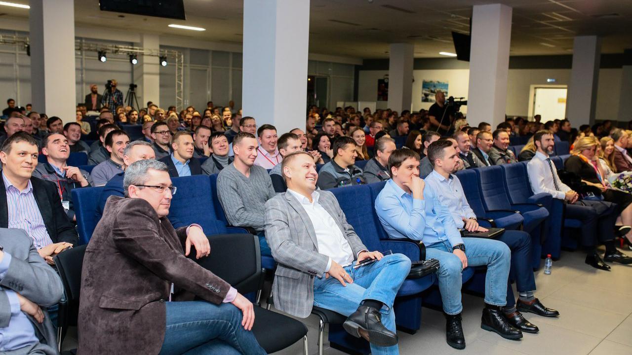 Слушать истории о лидерстве пришли 300+ сотрудников Концерна.