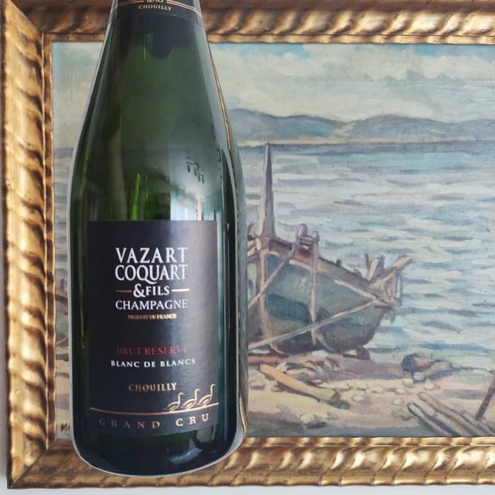 Champagne Vazart-Coquart Brut Reserve Blanc de Blancs
