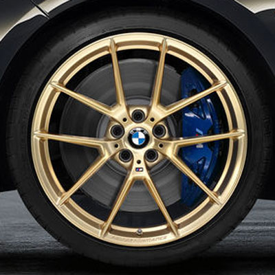 Комплект колес R20 Y-Spoke 763M Performance Frozen Gold Matt с летней резиной Michelin Pilot Super Sport​ (RunFlat)