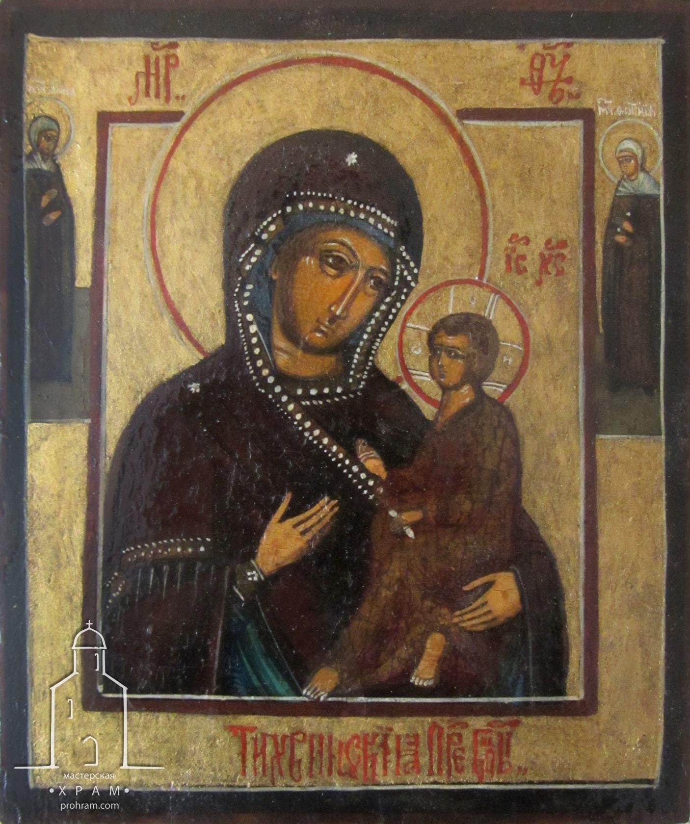 Реставрация икон, Богородица, реставрация икон минск, реставрация икон москва, реставрация икона спб, этапы реставрации иконы