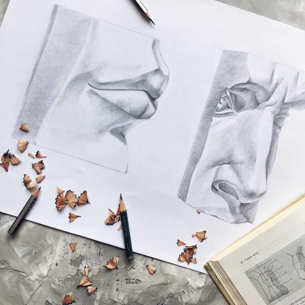 уроки по академическому рисунку