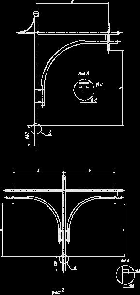 Кронштейн для консольных светильников — «Солярис»