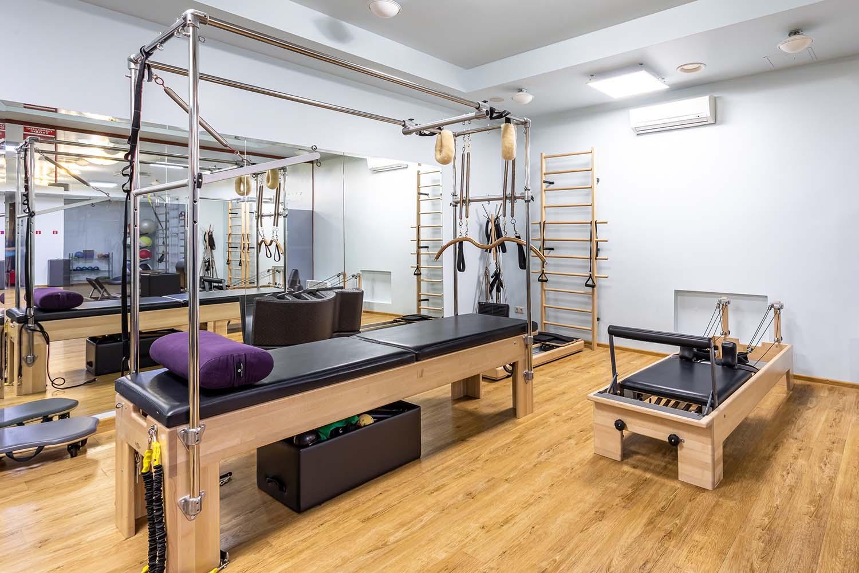 Оборудование для пилатеса BALANCED BODY в студии персональных тренировок PRO TRENER