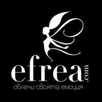 Пазарувай изгодно от онлайн магазин за дамски дрехи Efrea.com и Облечи своята емоция. Ефреа е и български производител на дамски дрехи в 16 размера EU, съобразени с вкуса на клиентите и най-актуалните модни тенденции.