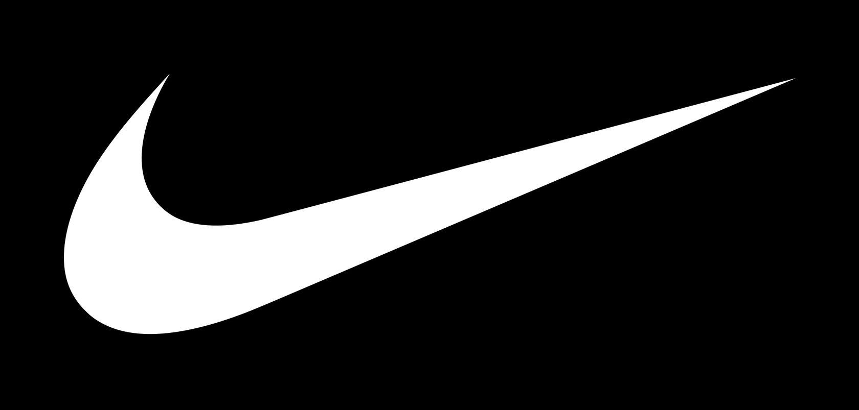 Современный логотип «Найк»