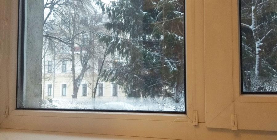 запотівають вікна що робити