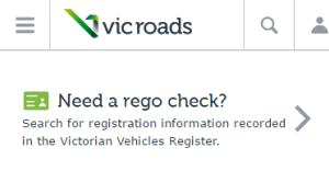 Мобильная версия VicRoads, сайта для австралийских водителей | Sobakapav.ru