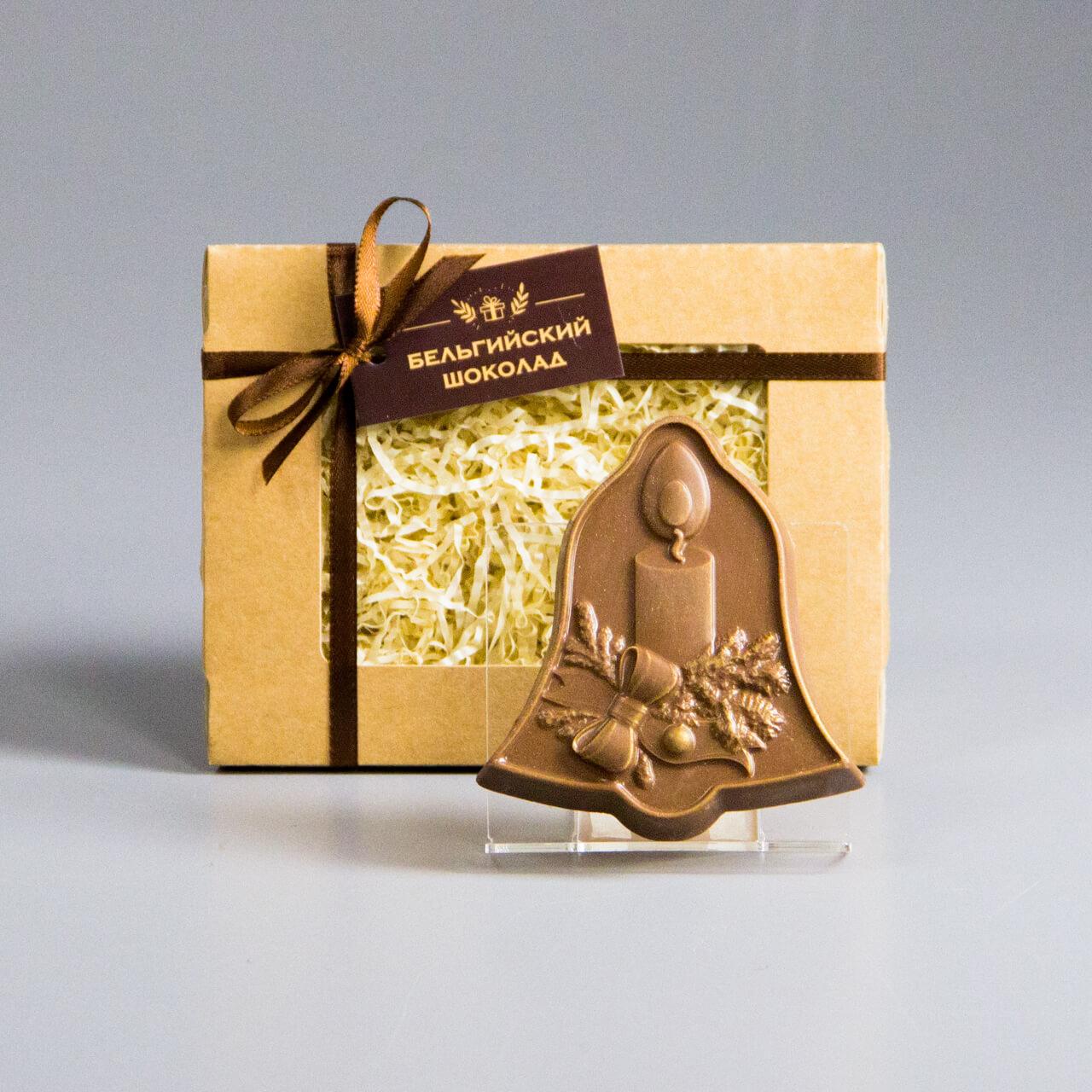 Шоколадная фигурка «Колокольчик 1»