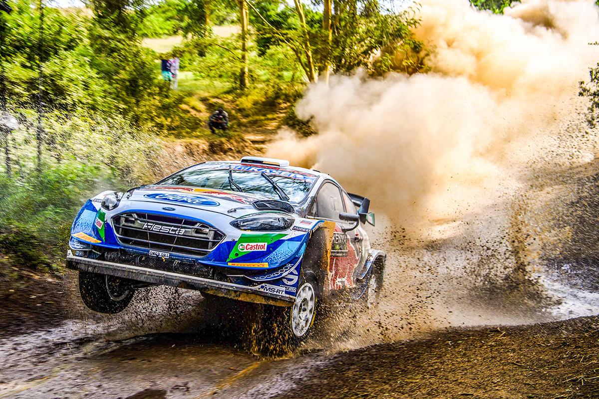 Адриен Фурмо и Рено Жамуль, Ford Fiesta WRC, ралли Сафари 2021