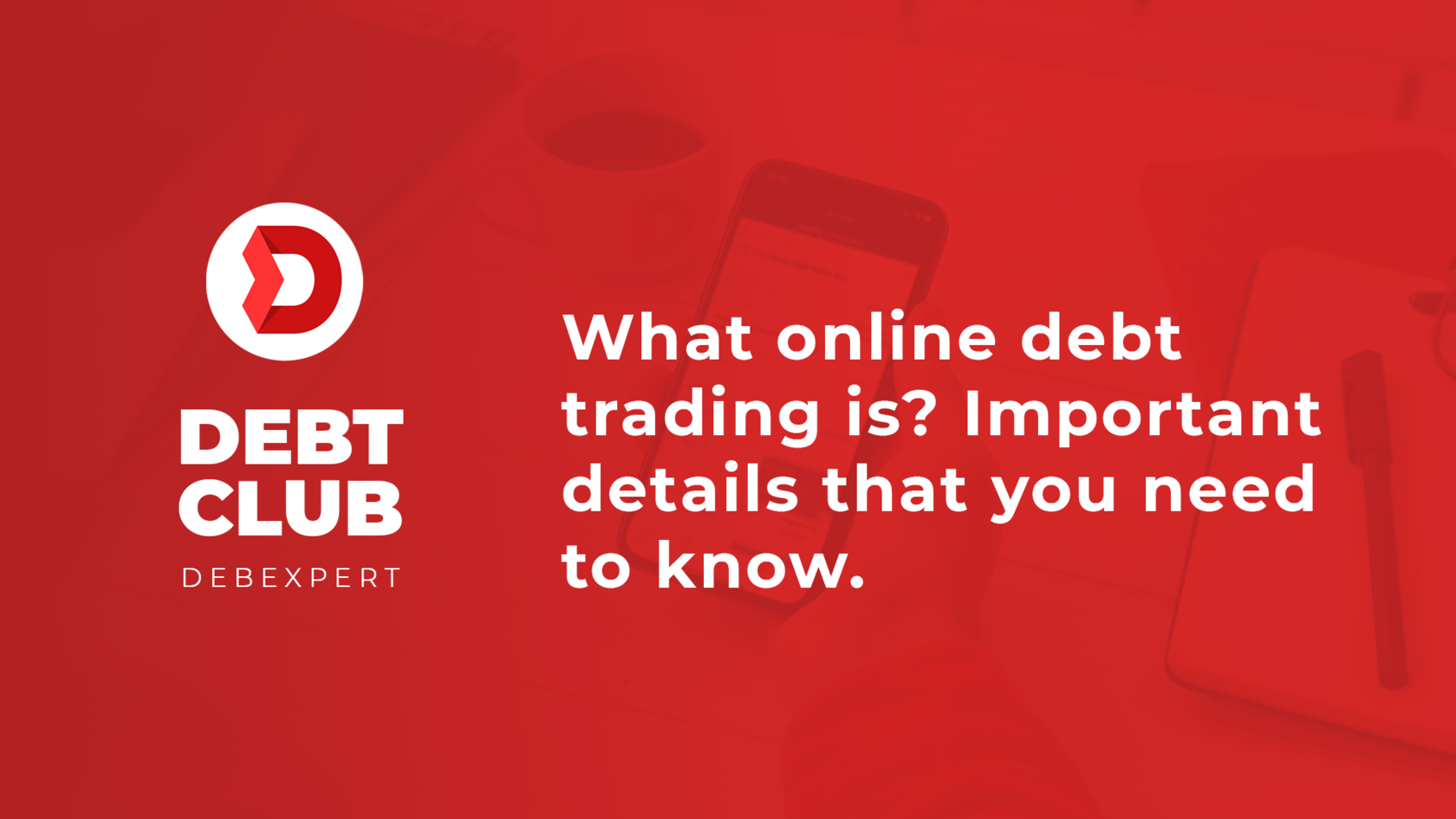 What online debt trading is?