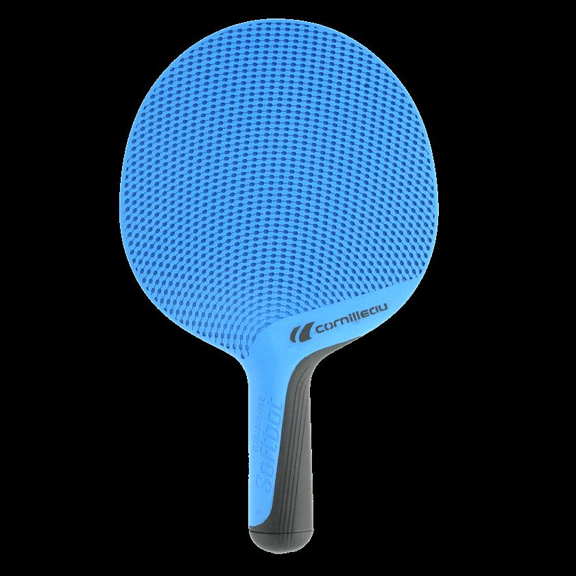Ракетка для настольного тенниса Cornilleau Softbat Blue вид спереди ... d6520deb356bb