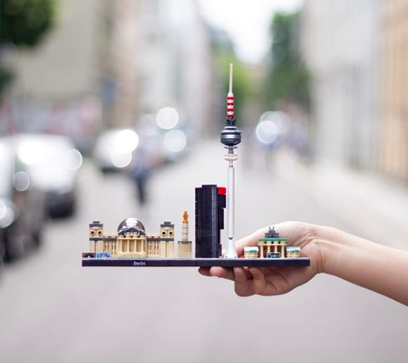 architecture lego modern