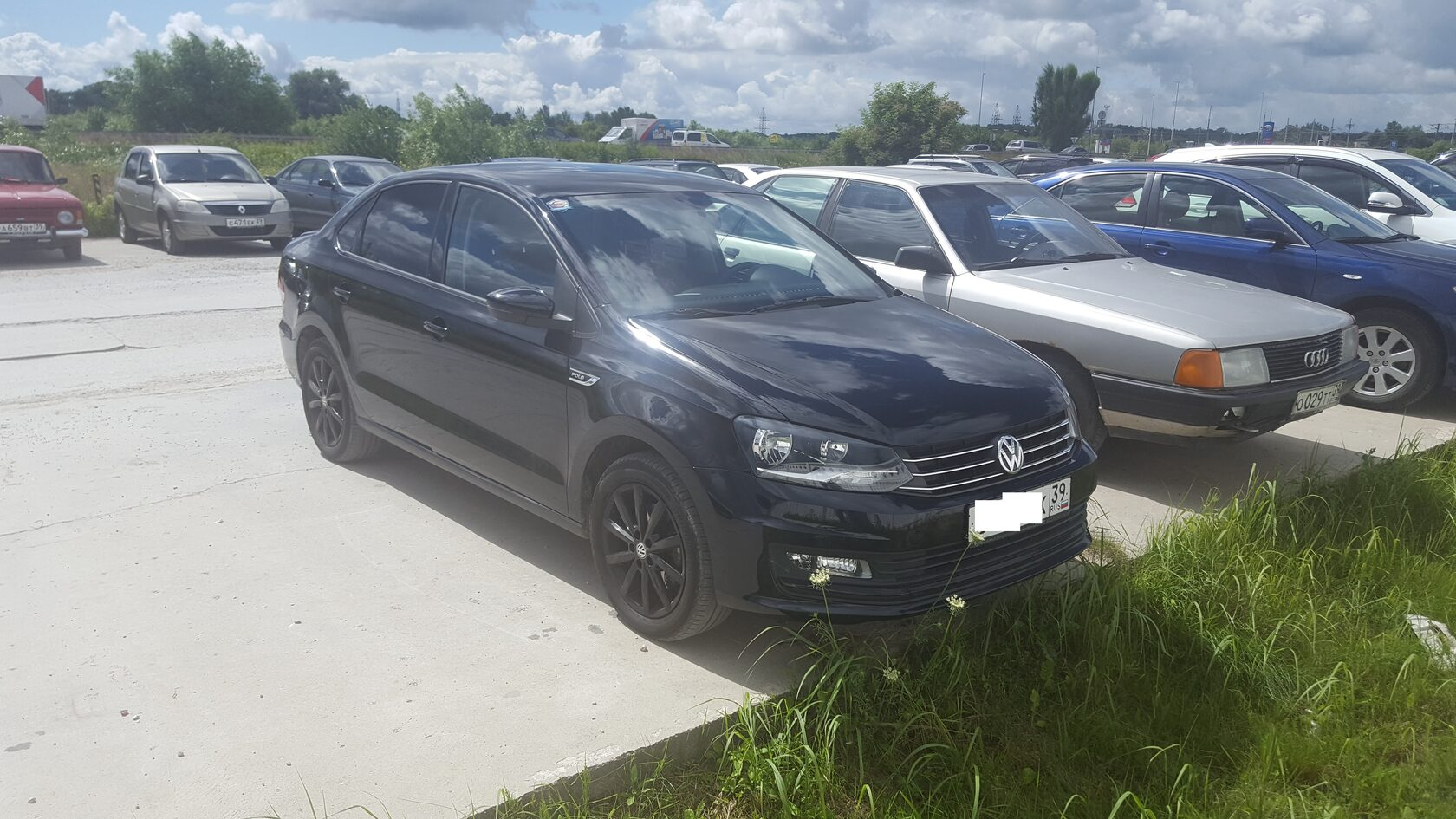автозвук в VW Polo 5