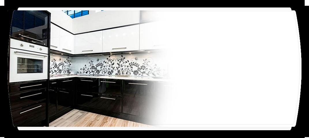 стеклянный фартук на кухню от favorit-glass.com