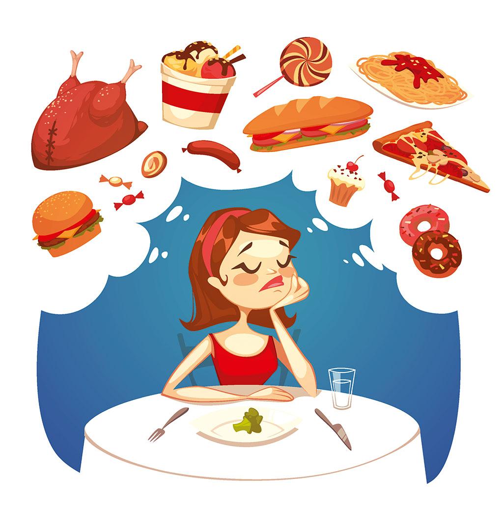 Картинки смешные про еду и диеты
