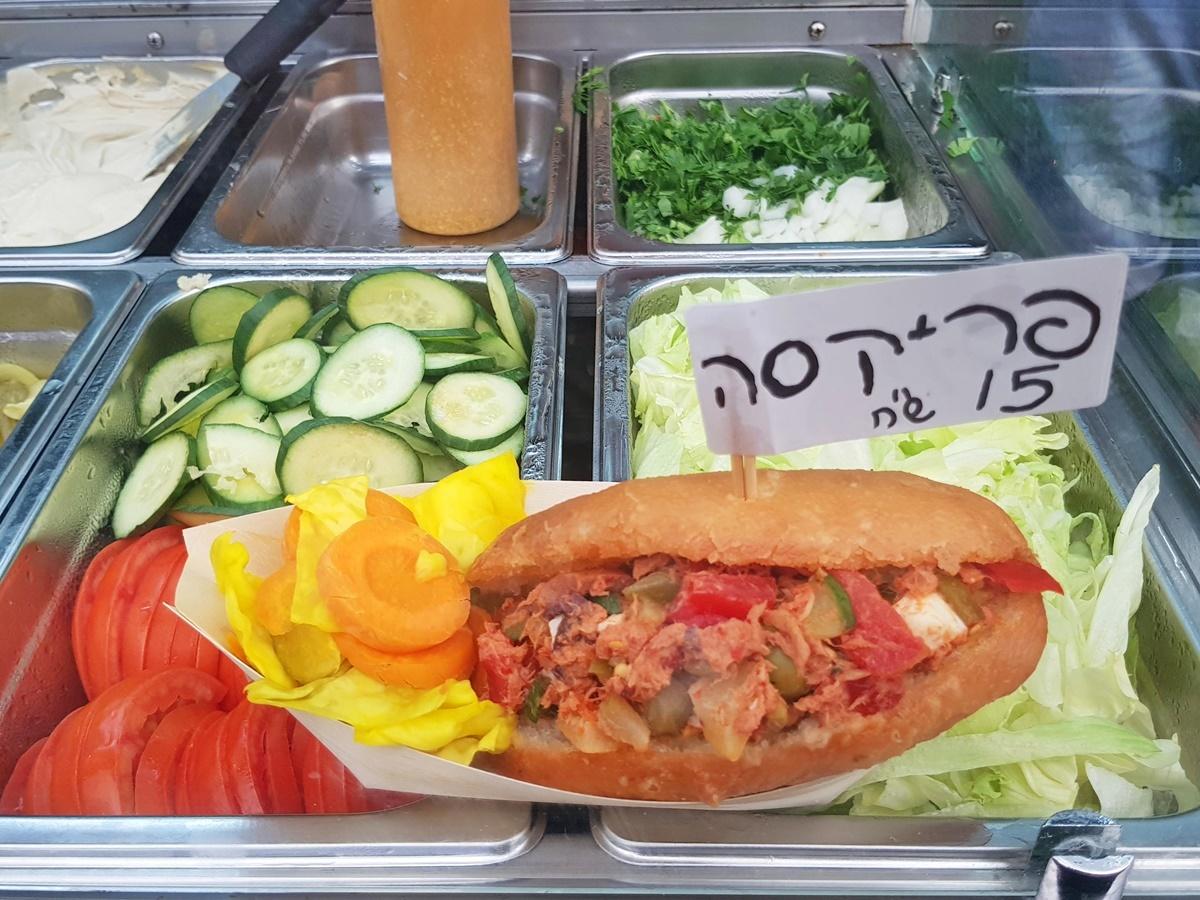 Фрикасе - Тунисский сендвич. Блог Вкусный Израиль.